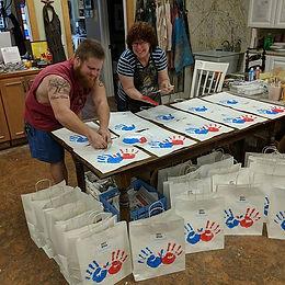 "It's an assembly line of ""Art Supplies""!"