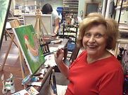 Instruction Art Studio, Adult classes in acrylics, watercolor, stained glass, clay & more...