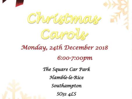 Christmas Carols in Hamble