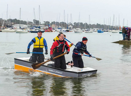 Annual New Year's Day Raft Race
