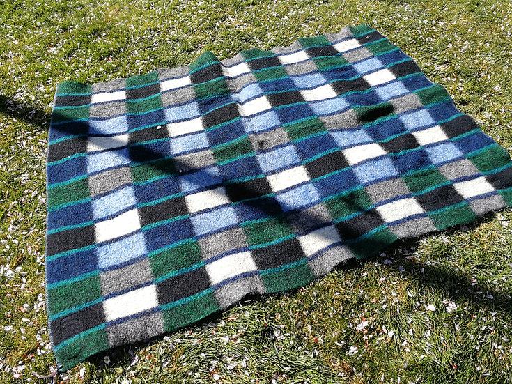 Mooie geblokte deken