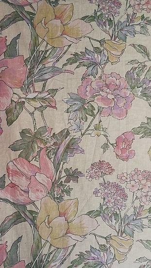 Soft colour fabric