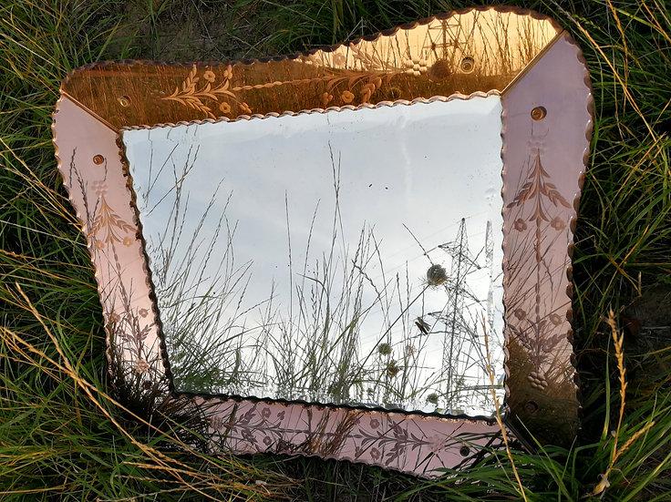 Roze Venetiaanse spiegel