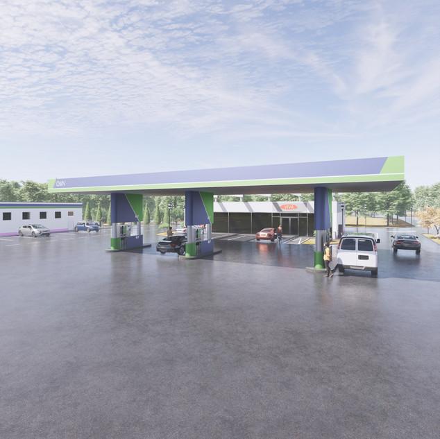 6-revit-family-gas-station-petrol-omv-pu