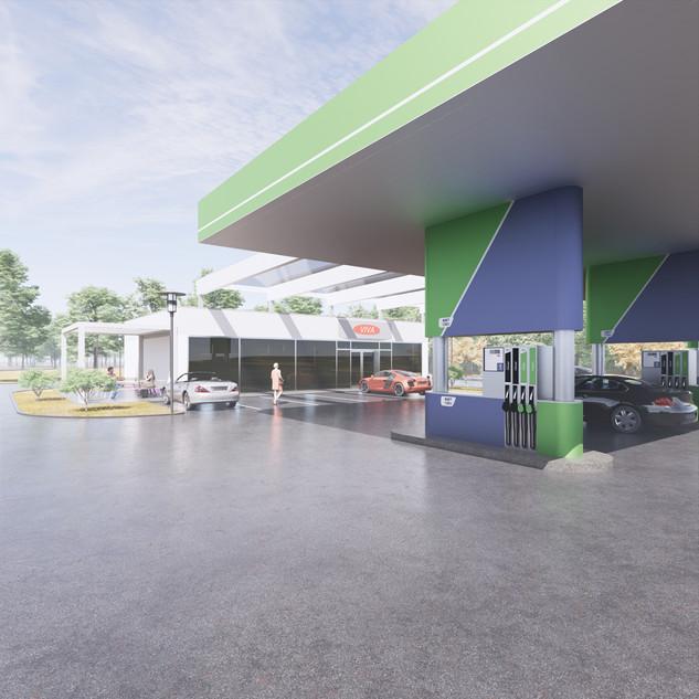 7-revit-family-gas-station-petrol-omv-pu