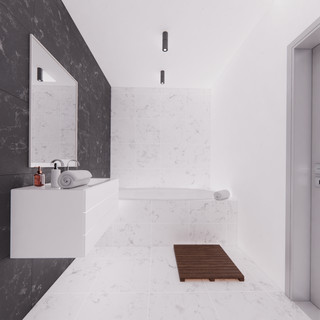 Vizualizácia interiéru - kúpelňa