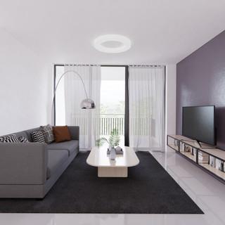 Vizualizácia interiéru - obývacia izba