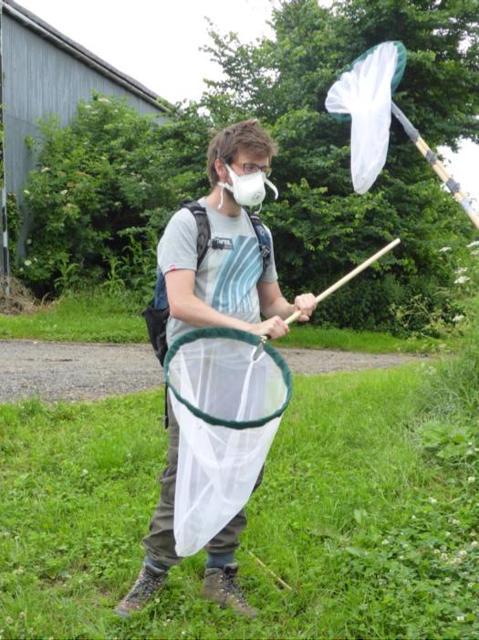 Myself in my hay fever kit