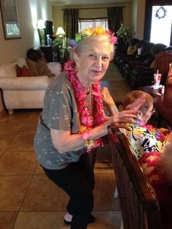 Bingo Hawaii style, Sue Johnson brought Hawaii to us