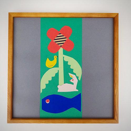 コラージュフレーム Tapestry