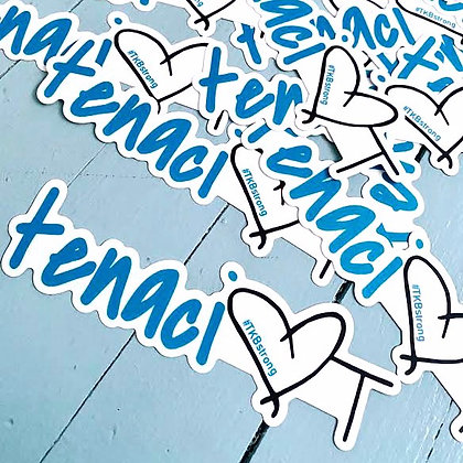 """tenaciTy"" stickers"