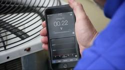 App voltage reading at condenser
