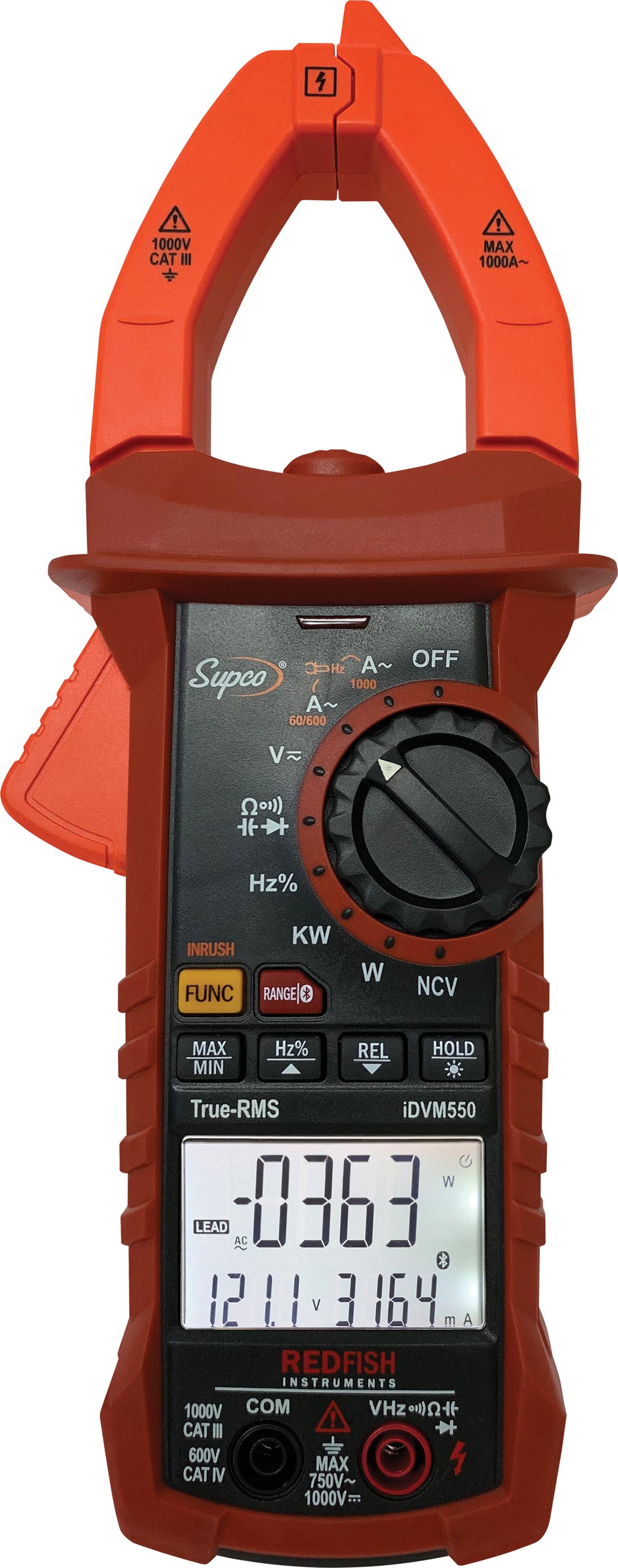 iDVM550 App-Connected Clamp Meter