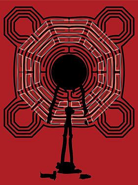Vier Labyrithe des Ichs