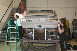 Replacing Quarters On A '67 Camaro