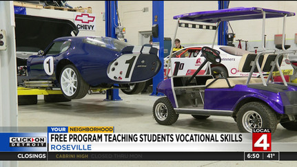 DRIVE One On Local 4 News This Morning