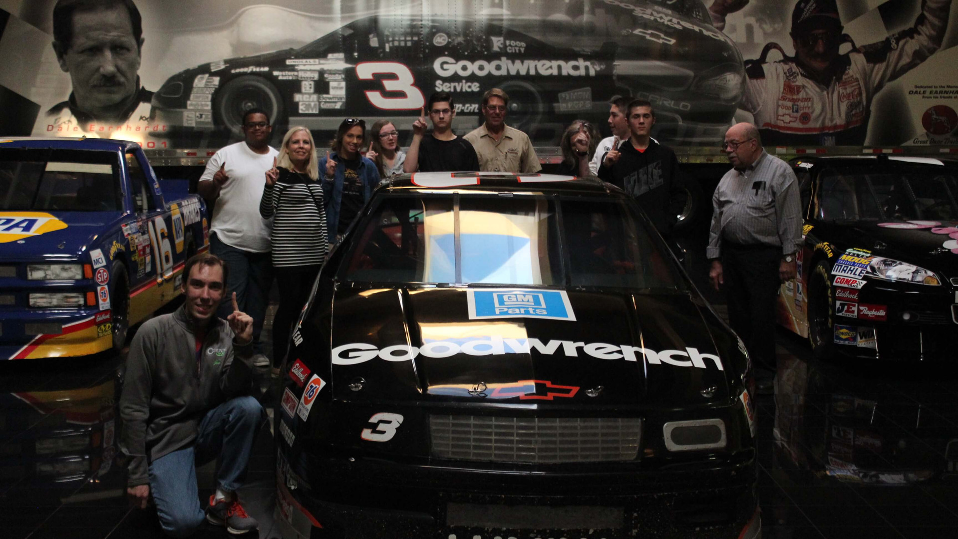 Dale Earnhardt Inc. in Mooresville, North Carolina.