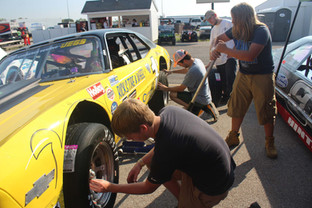 The CRA VanHoy Street Stock Race at Lucas Oil Raceway in Indianapolis.