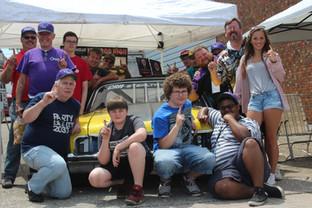 The St. Ignace Car Show.