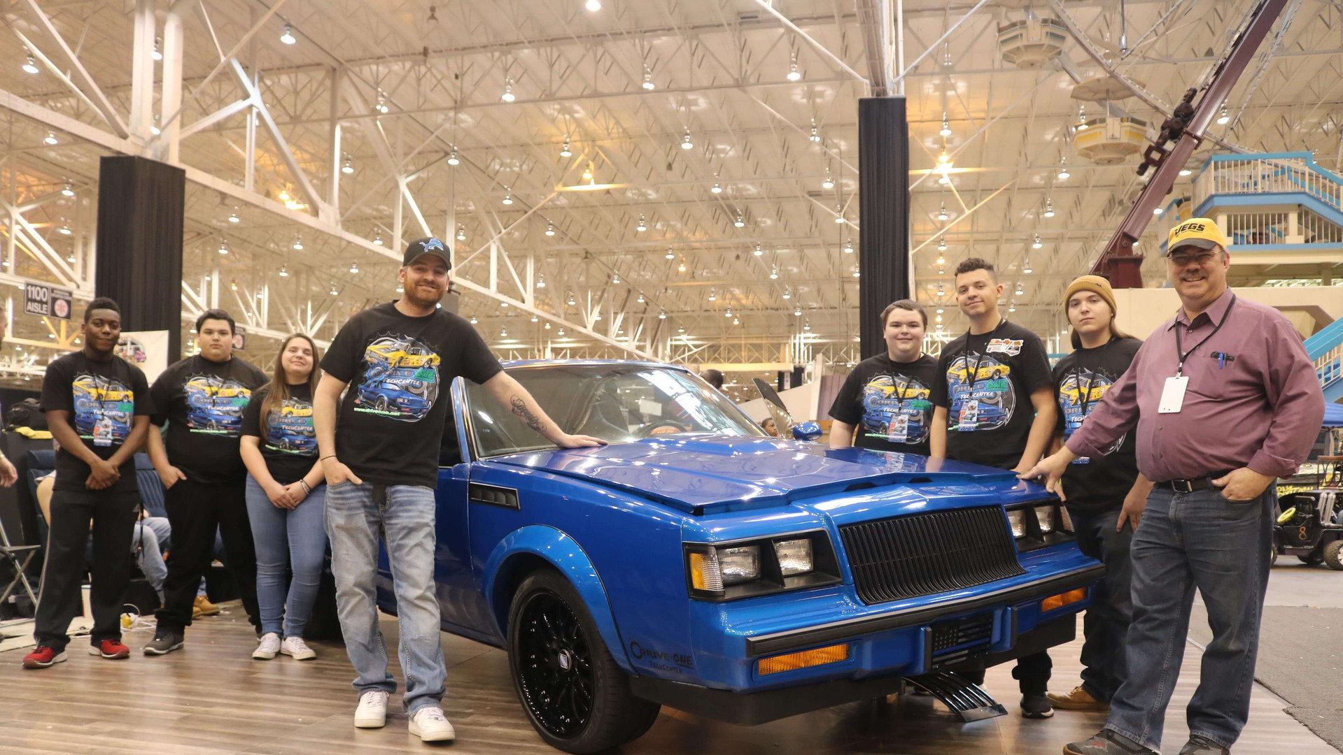 The I-X Piston-Power Autorama in Cleveland, Ohio