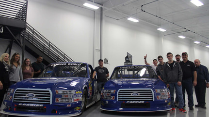 Brad Keselowski Racing in Statesville, North Carolina