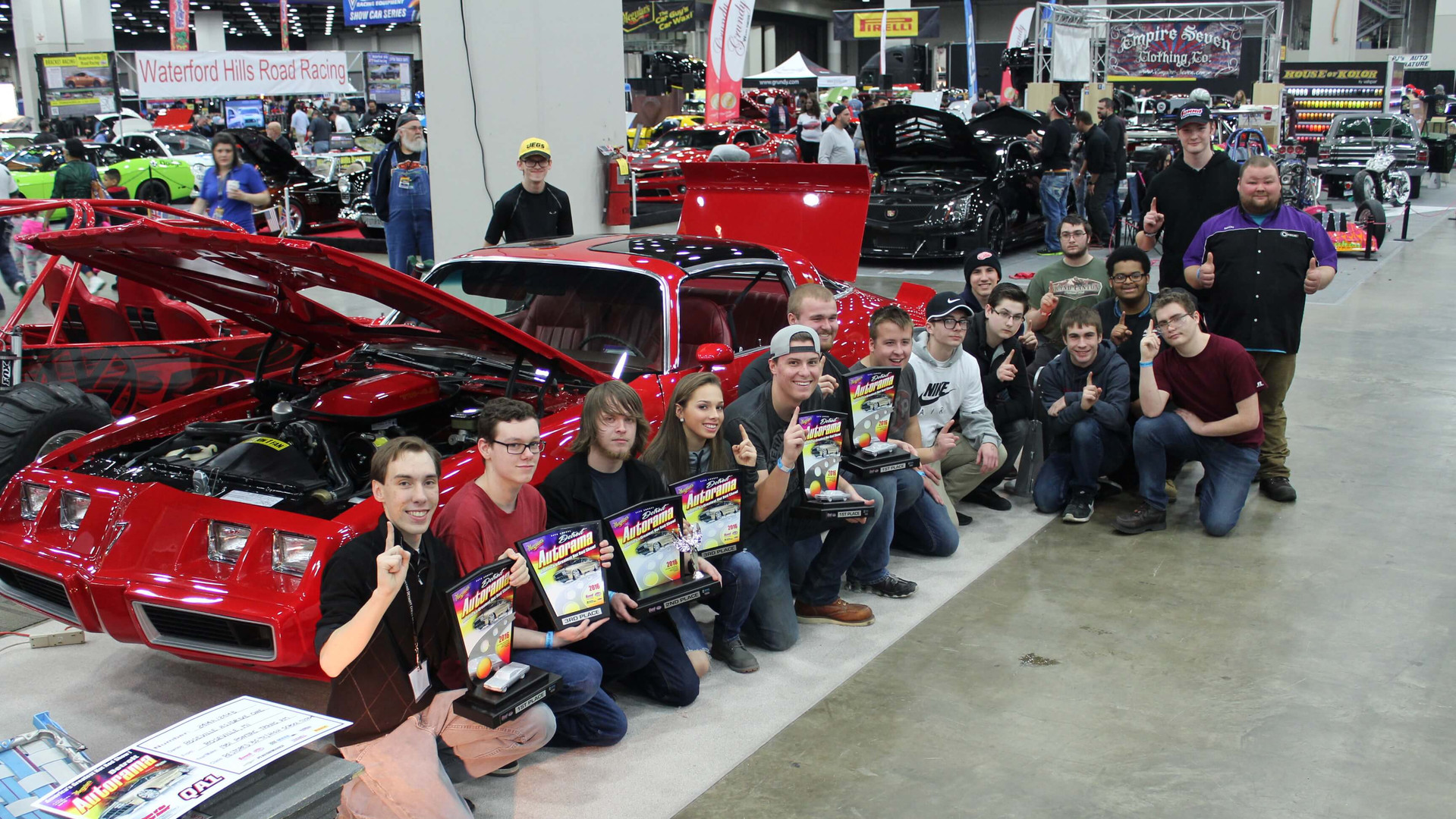 The Meguiars Autorama at TCF Center in Detroit, Michigan.