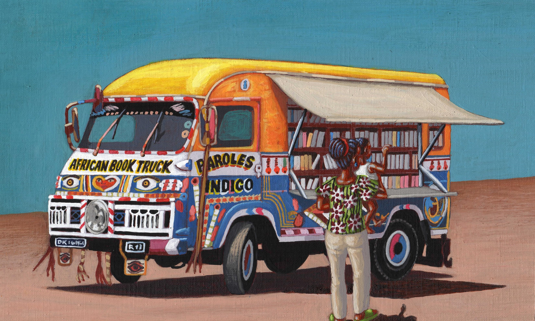 African Book Truck