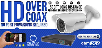 High Resolution Camera & DVR