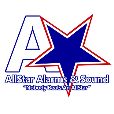 AllStar Alarms & Sound Logo