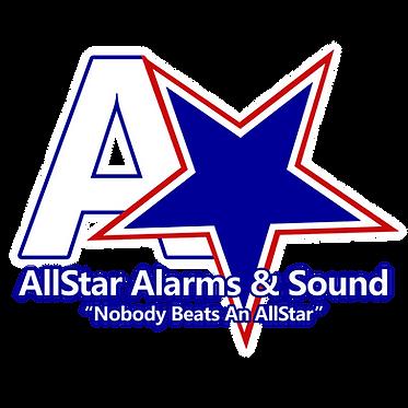 AllStar Alarms & Sound Logo