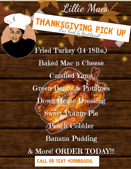 Copy of Thanksgiving Flyer - Made with P