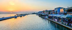 Lefkada town port