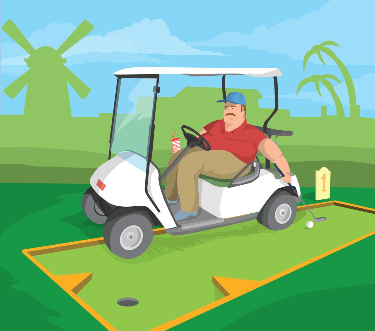 Mega golf