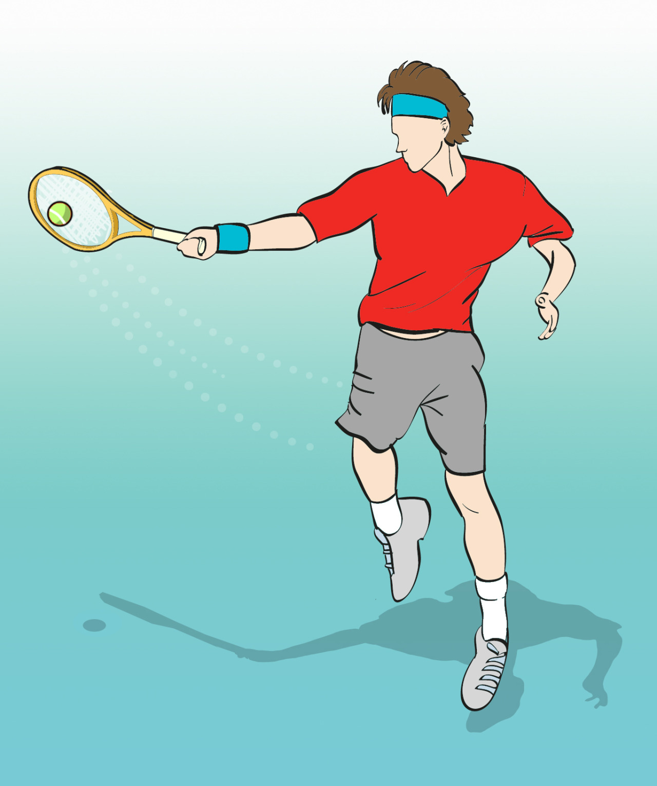 Tennis Illustration - Editorial
