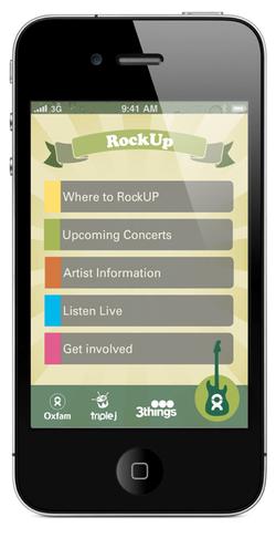 Rockup - Oxfam Concert