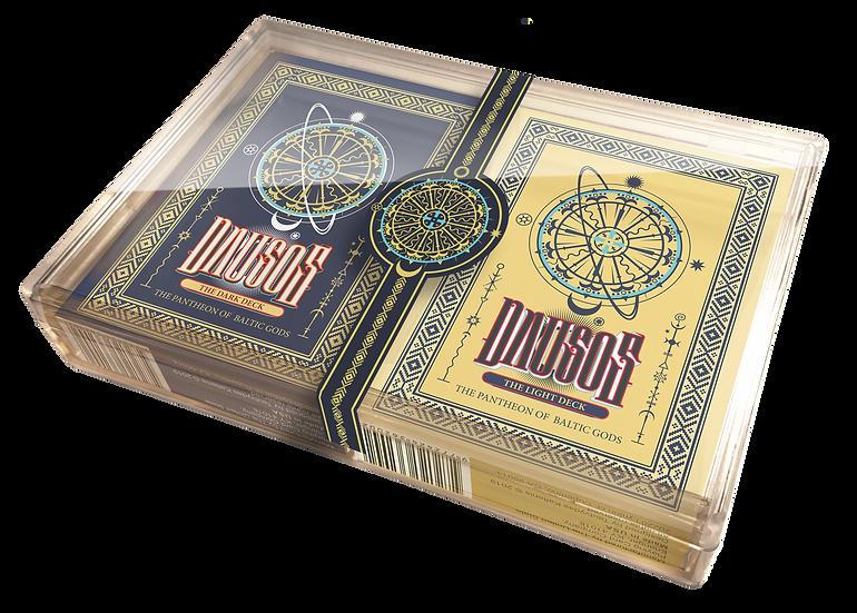 DAUSOS Standard Edition Pair decks in the Plastic Box
