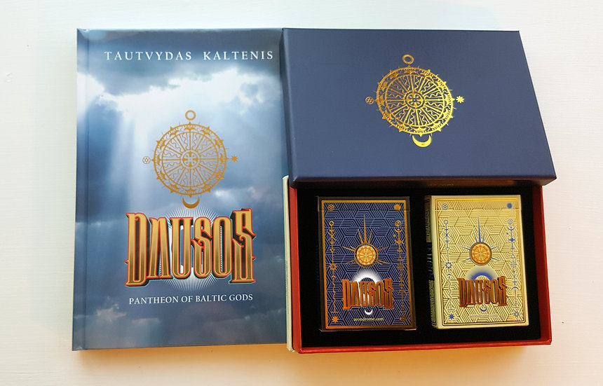 DAUSOS Book and Golden Edition Pair Deck in Box