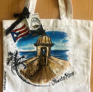Puerto Rican El Morro Tote