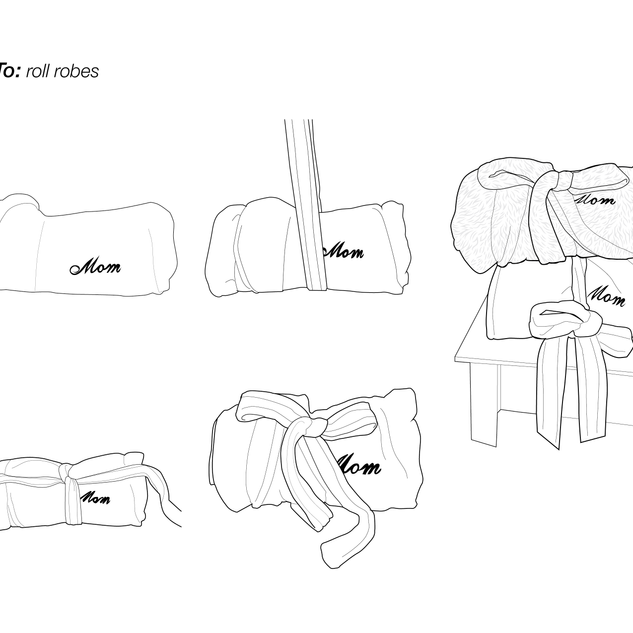 How to Roll Robes
