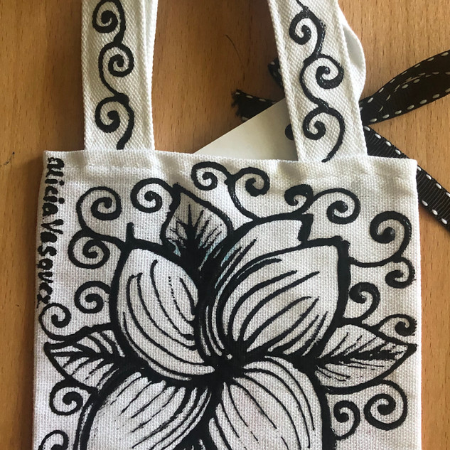 PR Flower Mini Tote