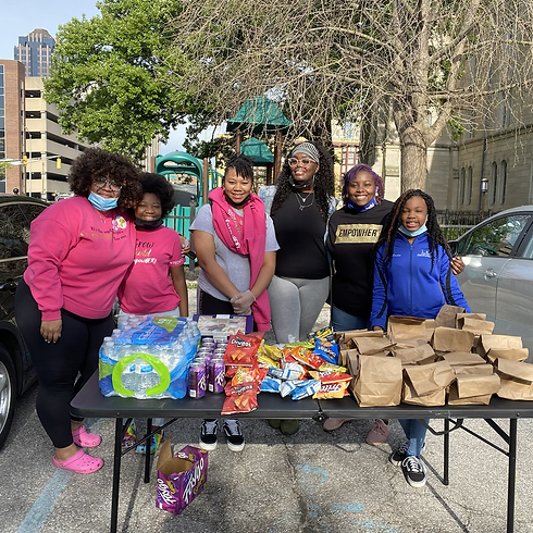 Monthly Feeding The Homeless