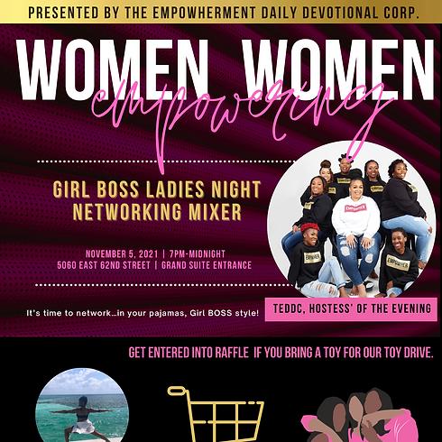 Girl Boss Ladies Night Networking Mixer