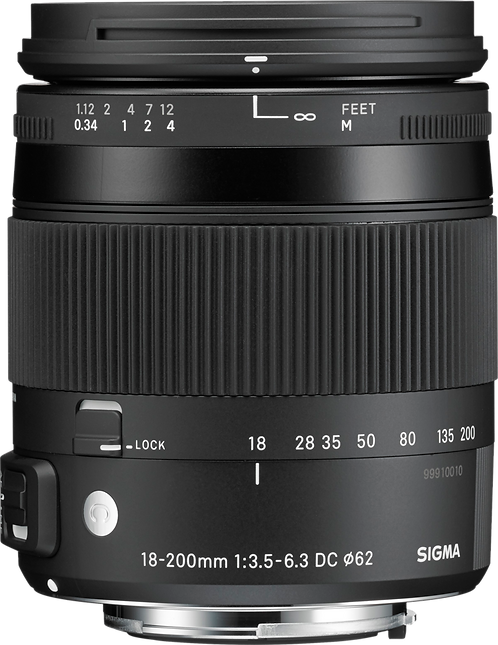 Sigma 18-200 F3.5-6.3 DC Macro  - Nikon Fit