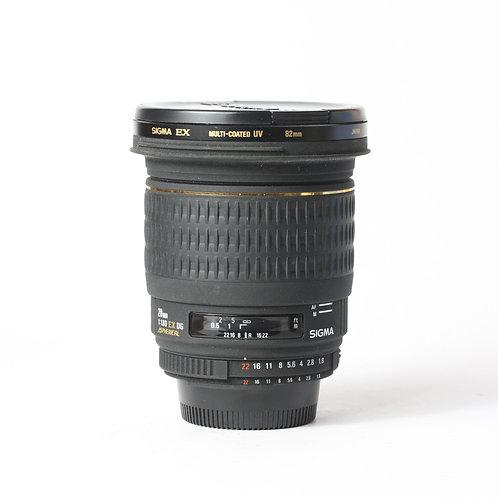 Sigma DG 20mm F1.8 EX