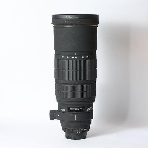 Sigma DG 120-300mm F2.8 EX APO