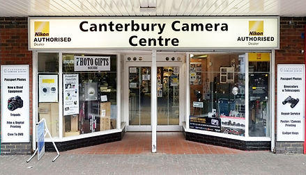 Canterbury Camera Centre Shop Image