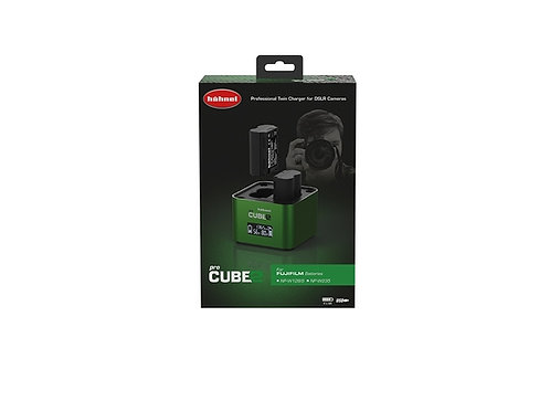 Hahnel ProCube2 - Fujifilm Twin Battery Charger (NP-W126/S & NP-W235)