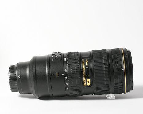 Nikon AF-S 70-200mm F2.8 ED VR II