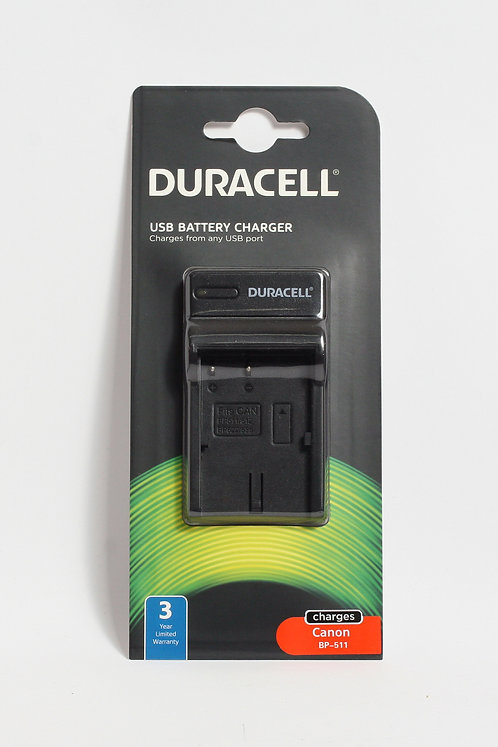 Duracell USB Charger for Canon BP-511