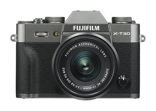 Fujifilm X-T30 & 15-45mm - Charcoal Grey